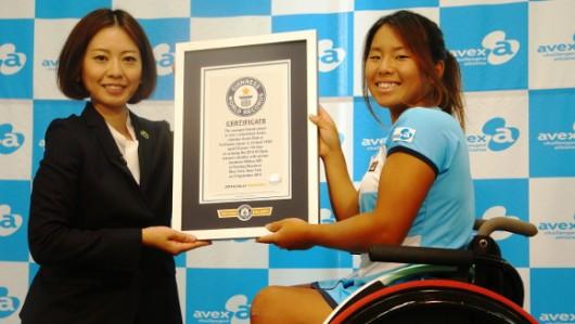 女子車いすテニスの上地結衣選手2